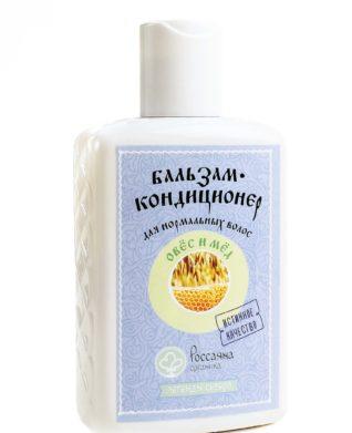 Бальзам - кондиционер «овёс и мёд» для нормальных волос